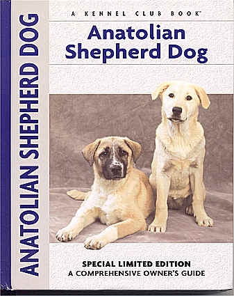 Anatolian Shepherd Dog Book - support the Cheetah Conservation Fund!